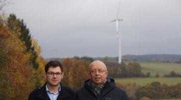 Emmanuel Kunz (l.) und Karl Vermöhlen sind für Kall im Kreistag